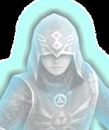 Hyrule Warriors Summoners Ghost Summoner (Dialog Box Portrait)
