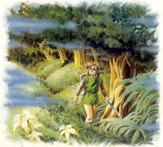 File:Lost Woods Artwork (A Link to the Past).png