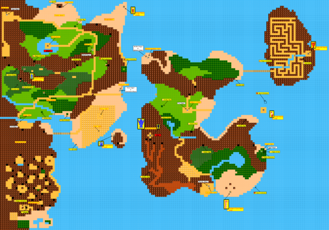 Arquivo:The Adventure of Link Overworld Map.png