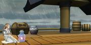 Super Smash Bros. for Wii U Pirate Ship Omega Form (Lookout Platform)