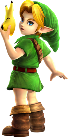File:Young Link (Hyrule Warriors).png