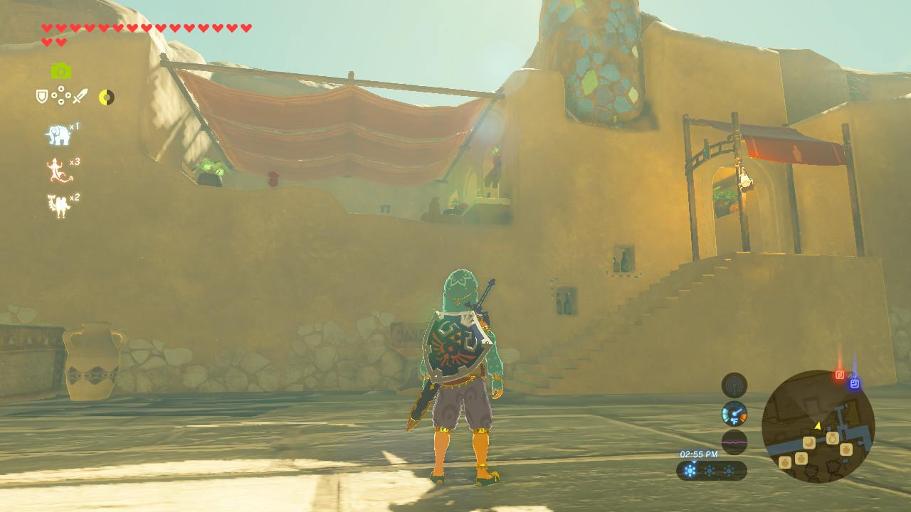 Gerudo Town Breath Of The Wild >> The Noble Canteen | Zeldapedia | FANDOM powered by Wikia