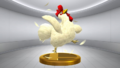 Super Smash Bros. for Wii U Cucco Item (Twilight Princess) Cucco (Trophy).png