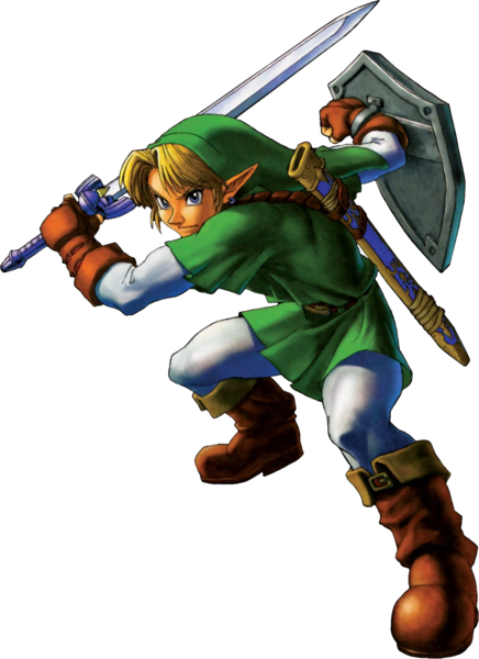 Link, as an 18 year old