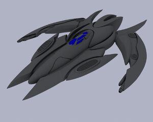 Coldarian Starfighter