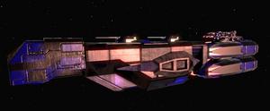 Coldarian Class 1 Battle Cruiser 1 fixed lighting