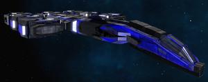Coldarian Class 3 Battle Cruiser 1