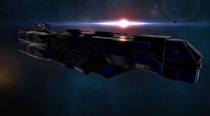 Coldarian Class 1 Battle Cruiser 1