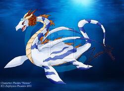 Plezira monster of loch ness by zephyros phoenix-d3ee6kc