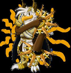 Arka the eagle