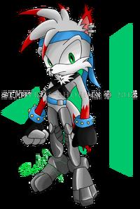 Ezo the wolf