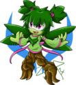 Shamrock the Tree Nymph 2