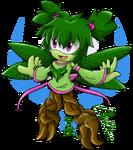 Shamrock the Tree Nymph 2