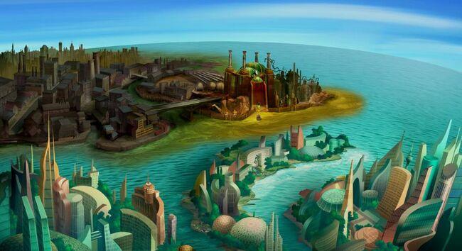 Stankville and New Eden City