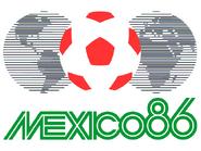 1986 Football World Cup logo