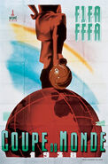 1938 Football World Cup poster