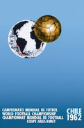 1962 Football World Cup poster