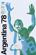 1978 Football World Cup poster