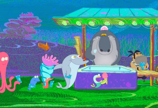 File:Zig & Sharko - Crazy Dolphin and Octopus Masseur Getting Ice Cream.png