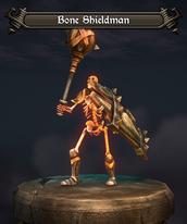Bone Shieldman