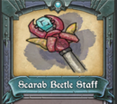 Scarab Beetle Staff