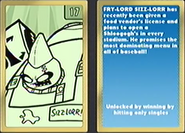 Nicktoons MLB Sizz-Lorr Card