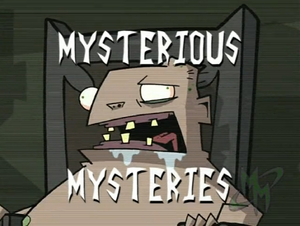 Mysterious Mysteries Title Card