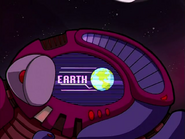 Earth's image on Voot Cruiser (The Nightmare Begins)