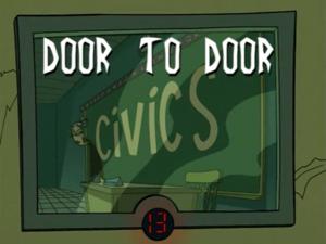 Title Card - Door to Door
