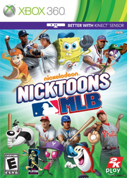 Nicktoons MLB cover
