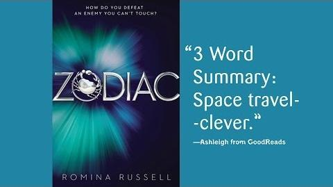 Most Anticipated Book Release 2014 - 'Zodiac' by Romina Russell