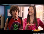 Logan agrees with Nicole when she says that they couldn't have built the robot without Quinn's help.