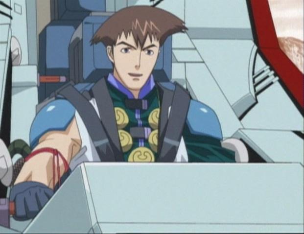 File:Leon at Blade Liger's controls.jpg