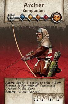 Zombicide Black Plage - Companion - Archer