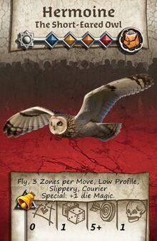 Zombicide Black Plage - Animal Companion - Owl