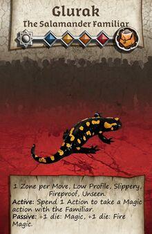 Zombicide Black Plage - Animal Companion - Salamander Famillar