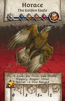 Zombicide Black Plage - Animal Companion - Golden Eagle