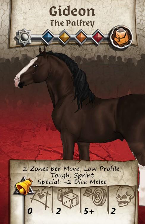 Zombicide Black Plage - Animal Companion - Gideon
