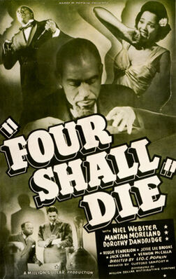 Four Shall Die 1940 Poster