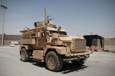 "An MRAP ""Cougar"" example"