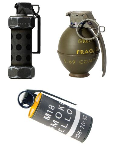 File:All the grenades.jpg
