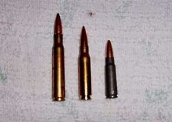 .30-06, 7.62x51mm NATO, and 7.62x39mm