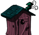 Pink Outhouse