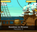 Zombies vs Pirates