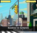 Zombies vs Lawyers