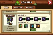 My new Doctor Zombie