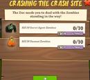 Crashing the Crash Site