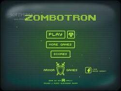 Zombotron screen