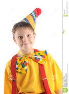 Ben as a Clown