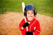 Ben at Baseball